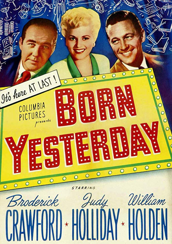 'Born Yesterday' movie poster