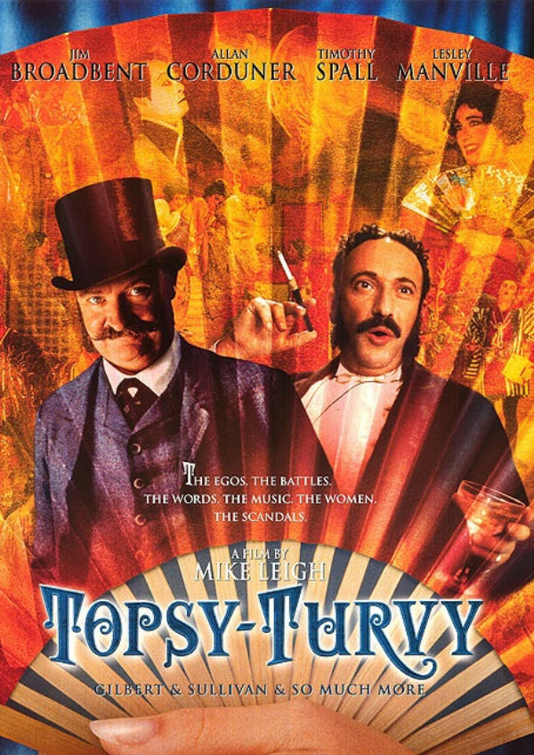 'Topsy-Turvy' movie poster