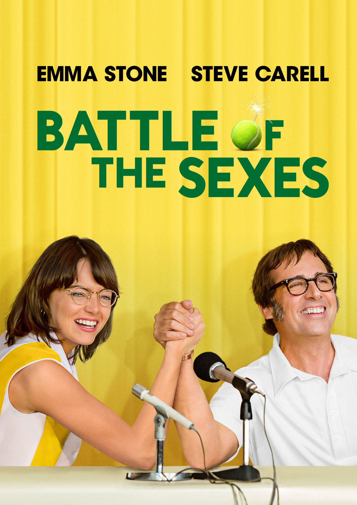 Poster for 'Battle of the Sexes'