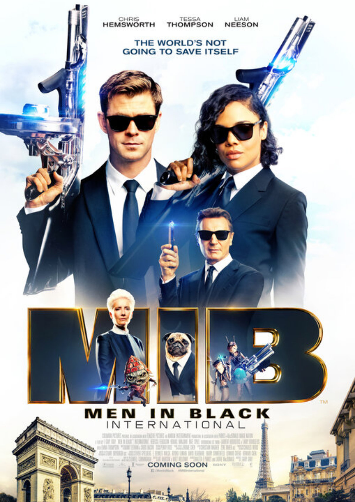 'Men In Black: International' movie poster