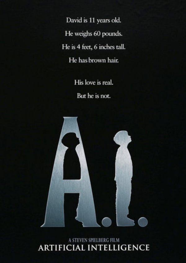 'A.I. Artificial Intelligence' movie poster