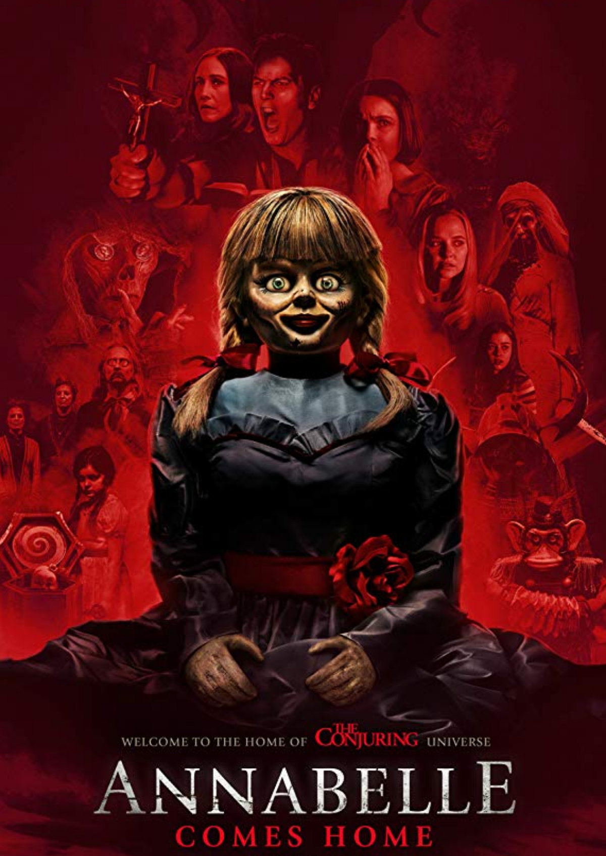 'Annabelle Comes Home' movie poster