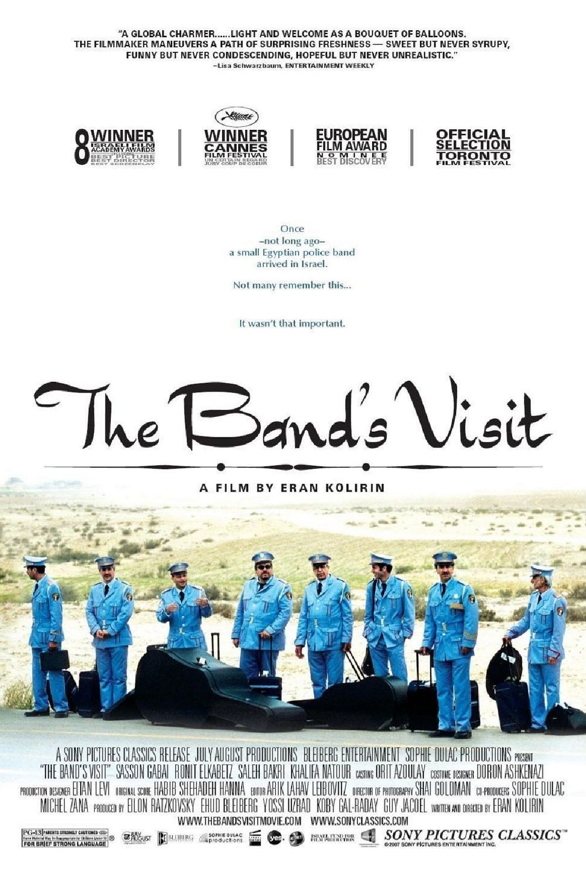 'The Band's Visit' movie poster