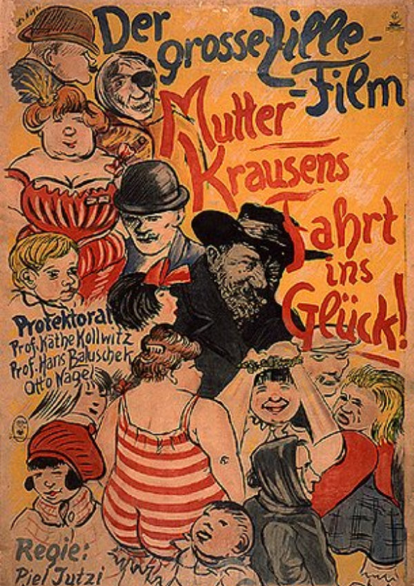 'Mother Krause's Journey To Happiness (Mutter Krausen's Fahrt Ins Glück)' movie poster