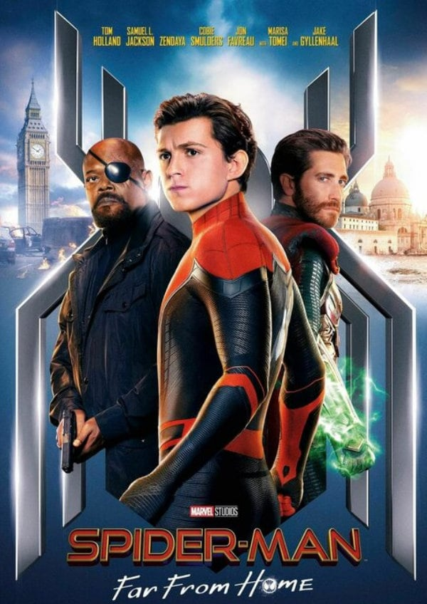 'Spider-Man: Far From Home' movie poster
