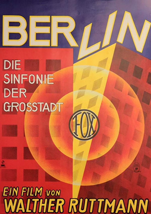 'Berlin: Symphony Of A Great City' movie poster