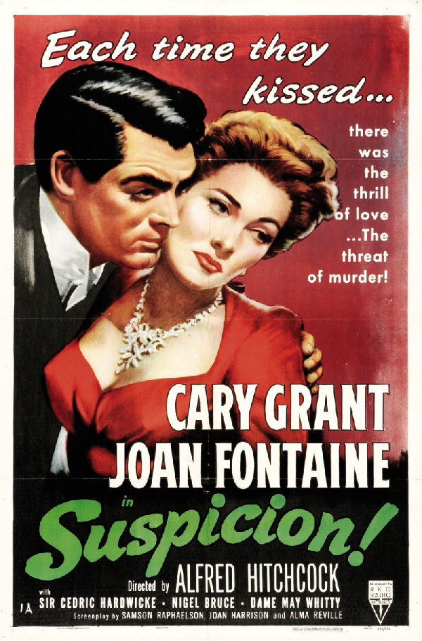 'Suspicion (1941)' movie poster