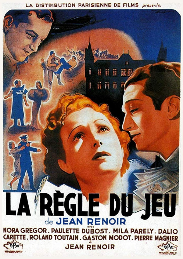 'The Rules Of The Game (La Regle Du Jeu)' movie poster