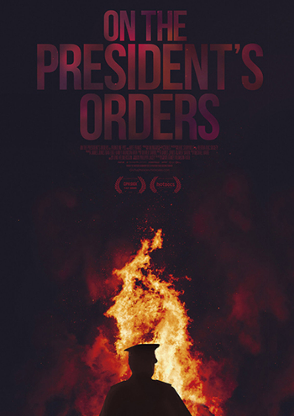 'On the President's Orders' movie poster