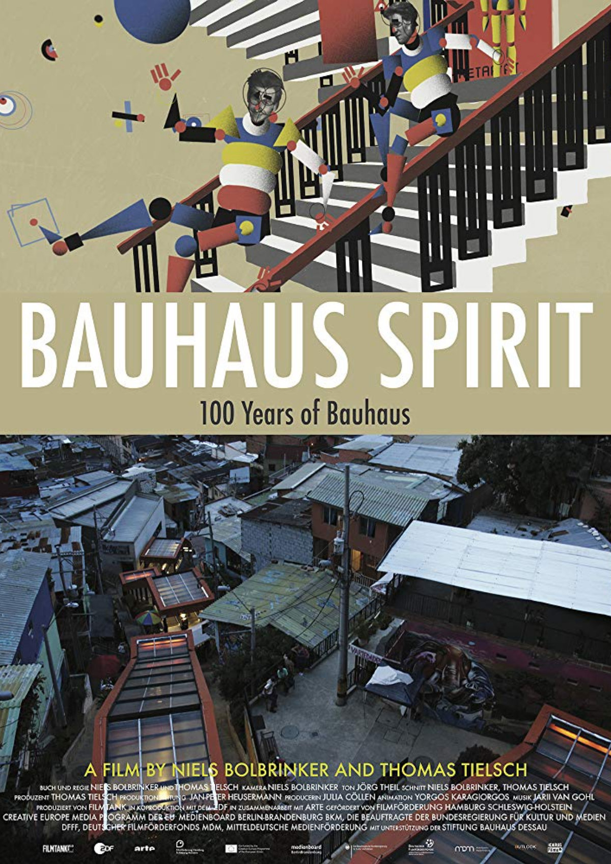 'Bauhaus Spirit: 100 Years Of Bauhaus' movie poster