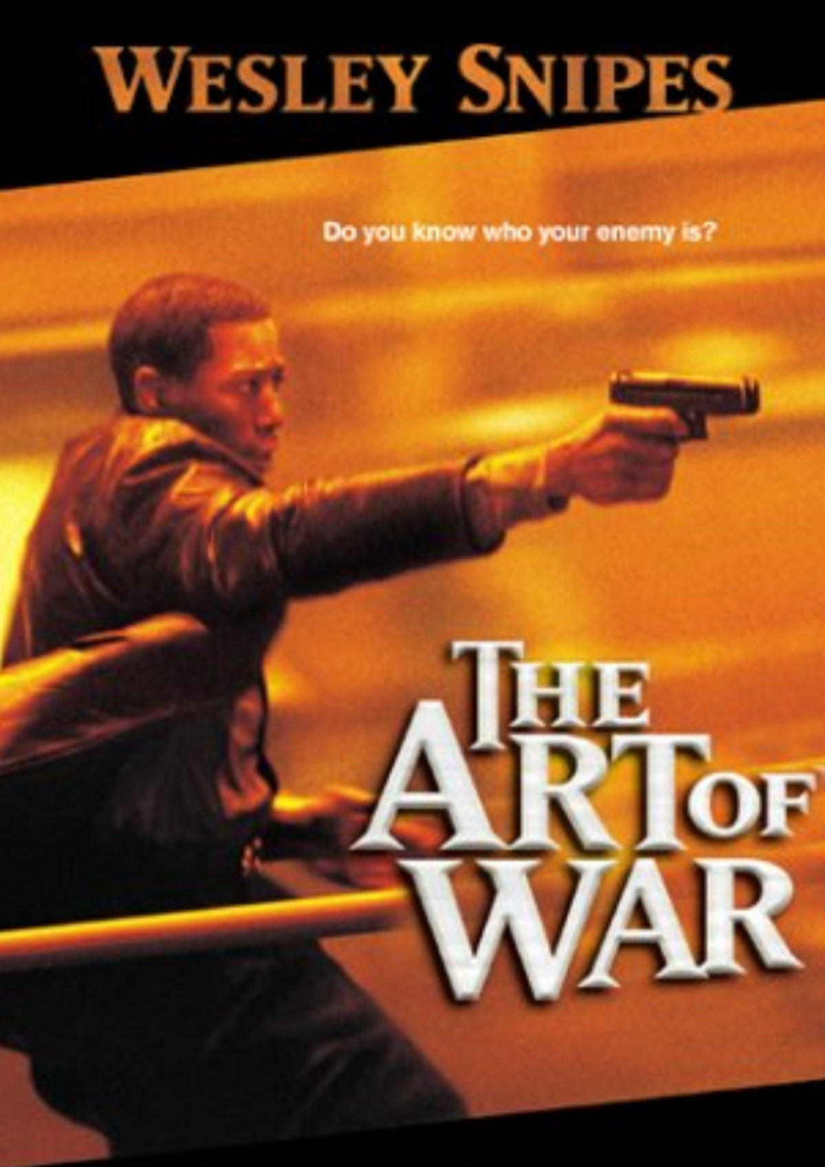 'The Art Of War' movie poster