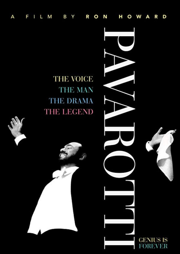 'Pavarotti' movie poster
