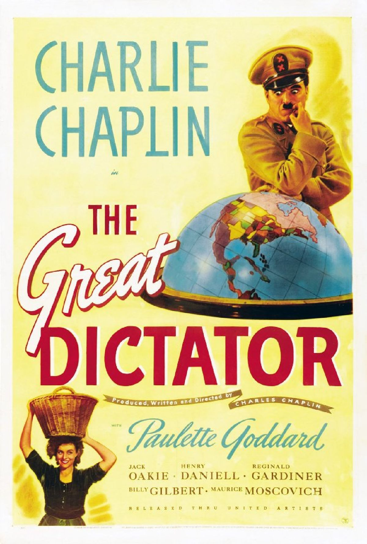 'The Great Dictator' movie poster