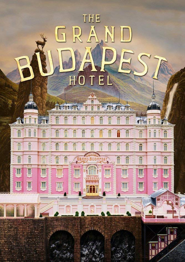 'The Grand Budapest Hotel' movie poster