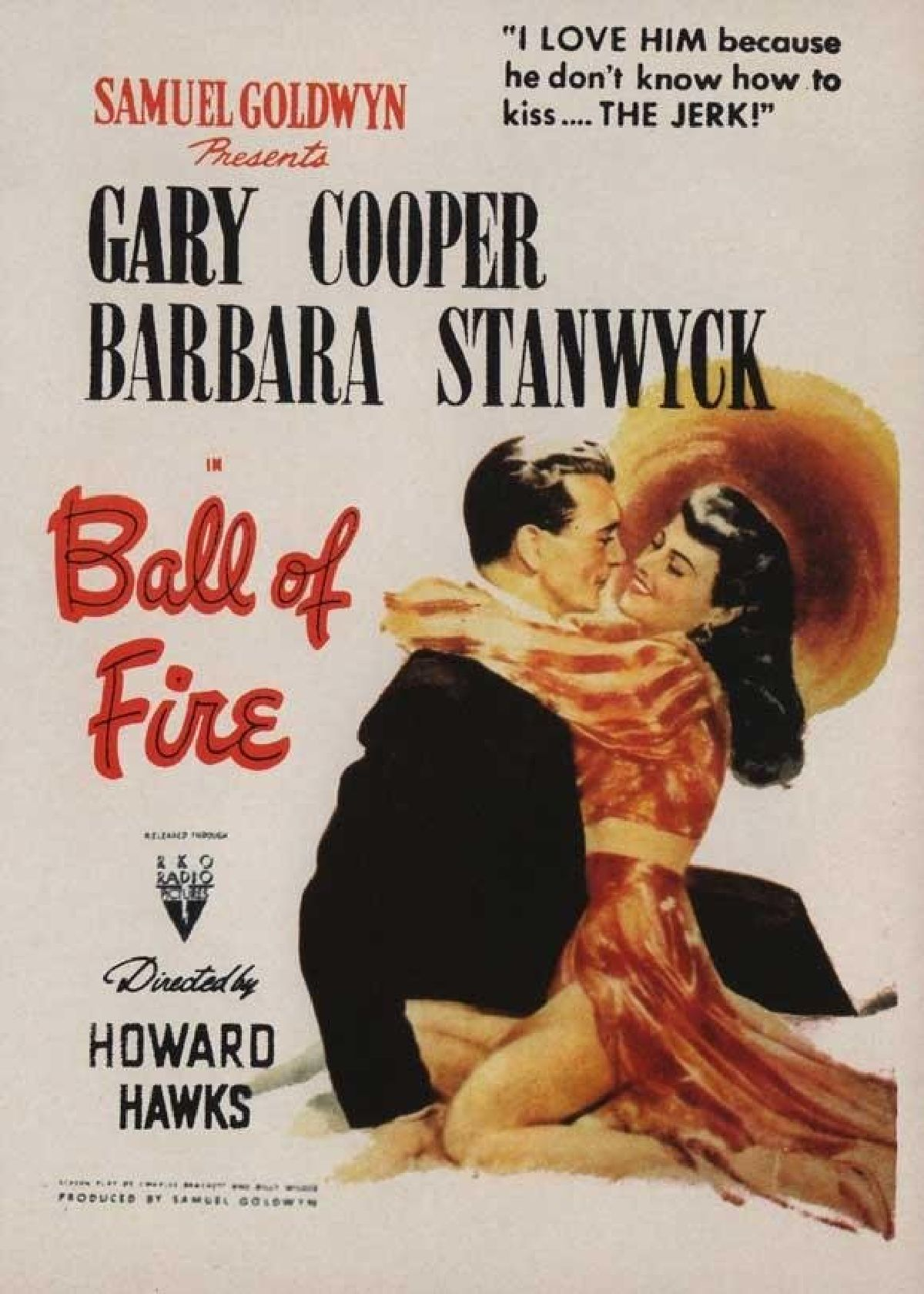 'Ball of Fire (1941)' movie poster