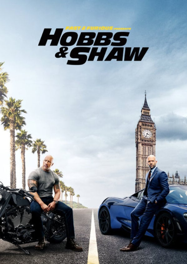 'Fast & Furious: Hobbs & Shaw' movie poster