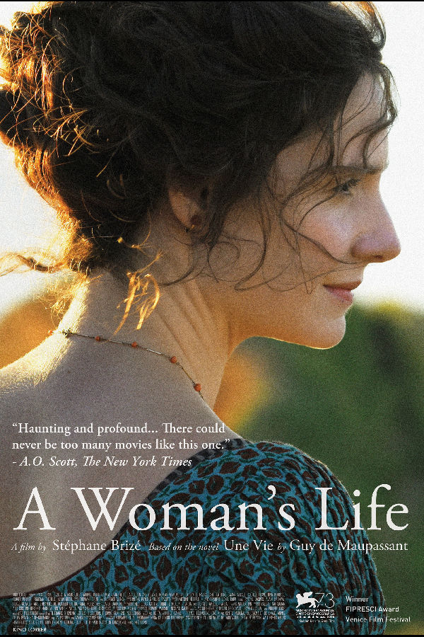 Poster for 'A Woman's Life (Une vie)'