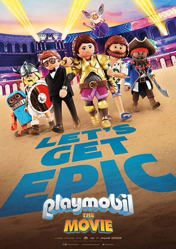 'Playmobil: The Movie' movie poster