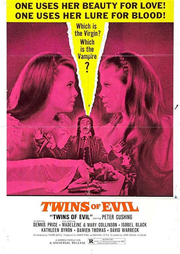 'Twins Of Evil' movie poster