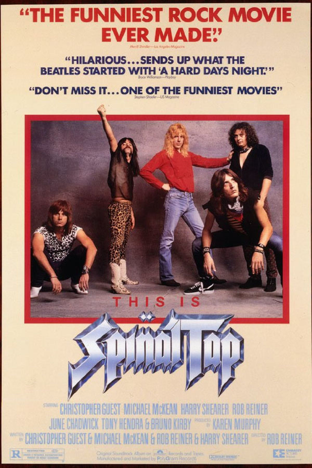 'This Is Spinal Tap' movie poster