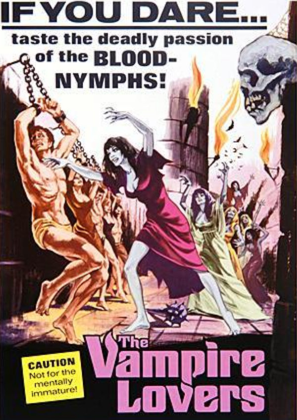 'The Vampire Lovers' movie poster
