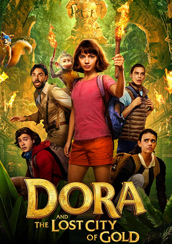 'Dora and the Lost City of Gold' movie poster