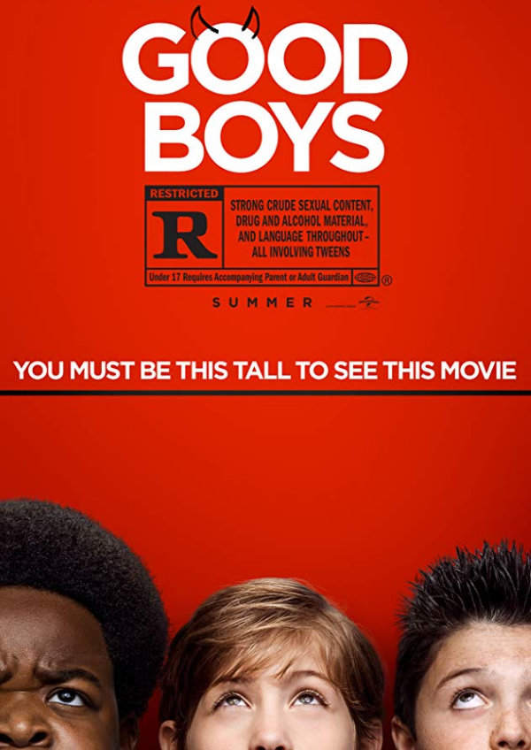 'Good Boys' movie poster