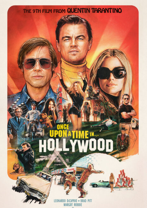 'Once Upon A Time In Hollywood' movie poster