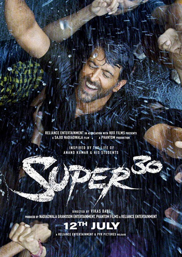 'Super 30' movie poster