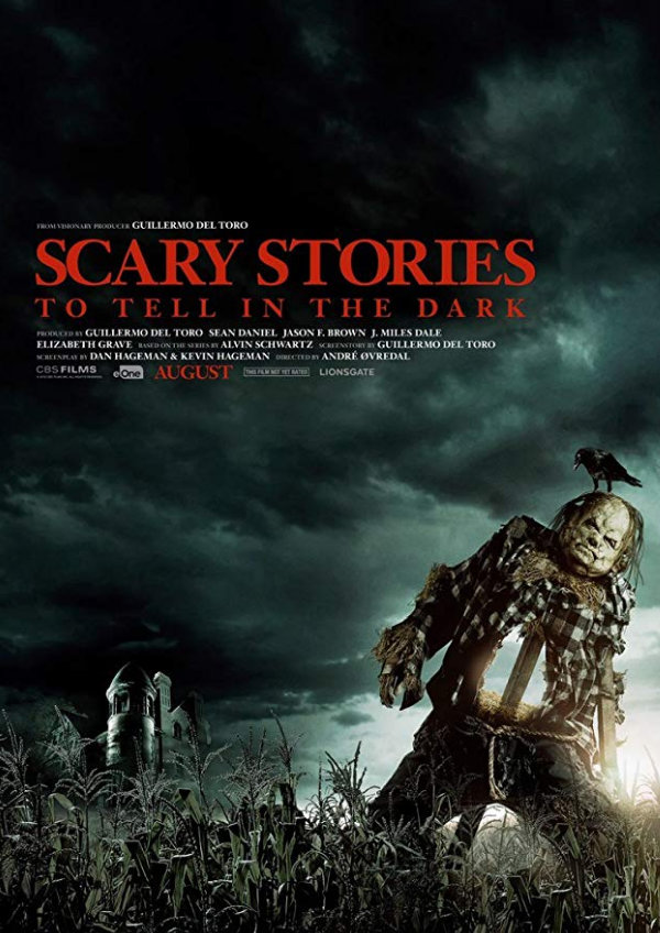 'Scary Stories To Tell In The Dark' movie poster