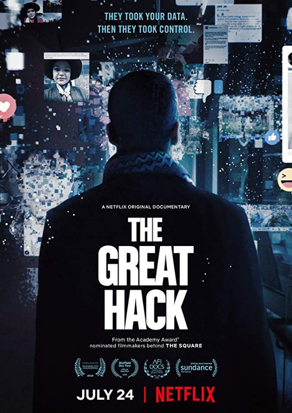 'The Great Hack' movie poster
