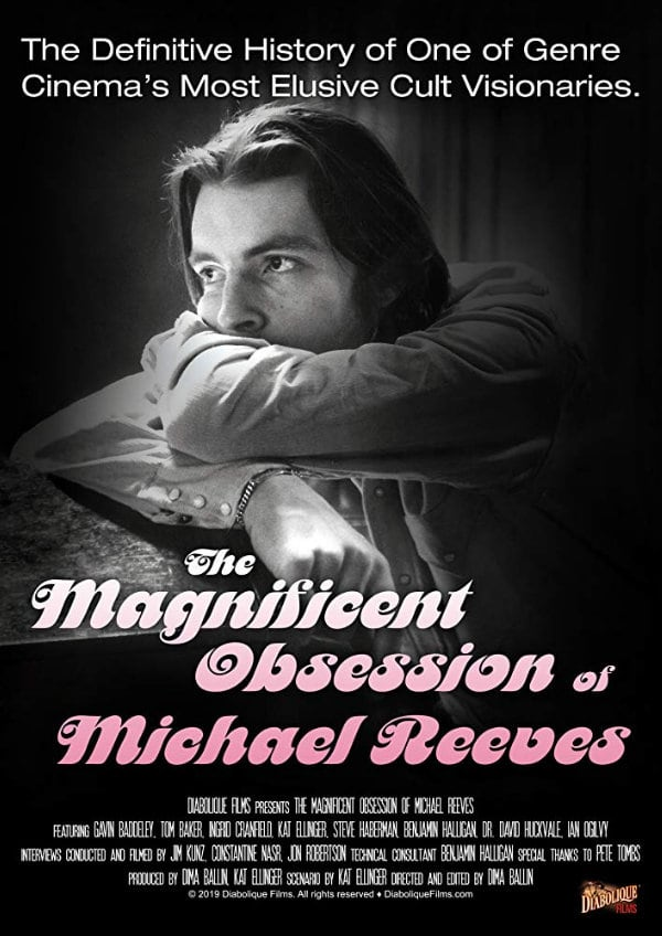 'The Magnificent Obsession of Michael Reeves' movie poster