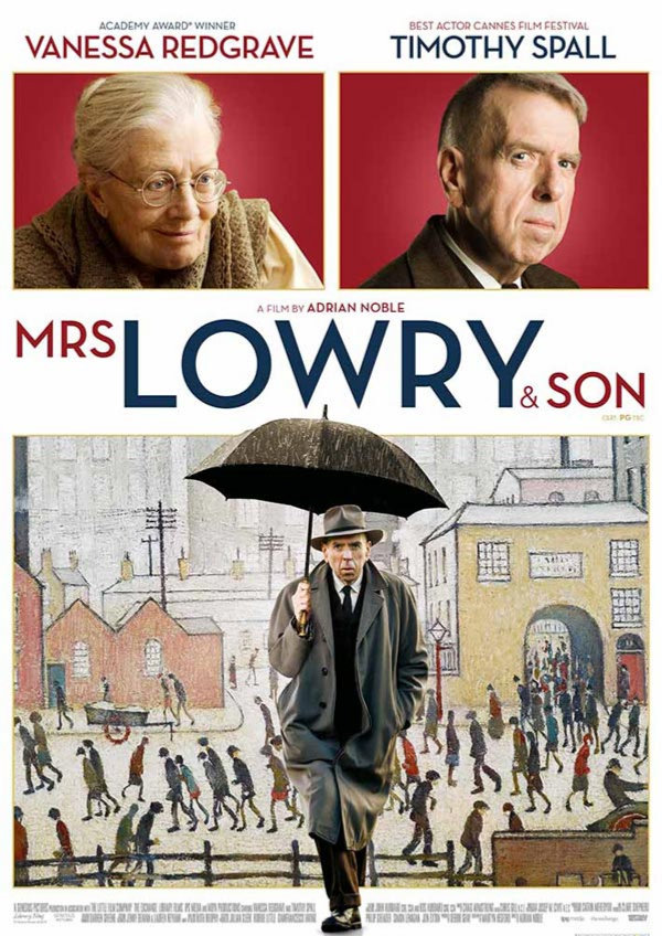 'Mrs Lowry & Son' movie poster