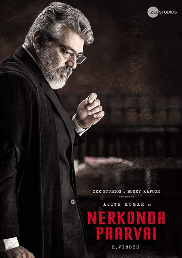 'Nerkonda Paarvai' movie poster