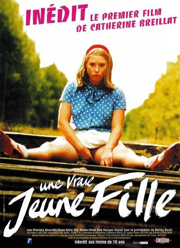 'A Real Young Girl (Une vraie jeune fille)' movie poster