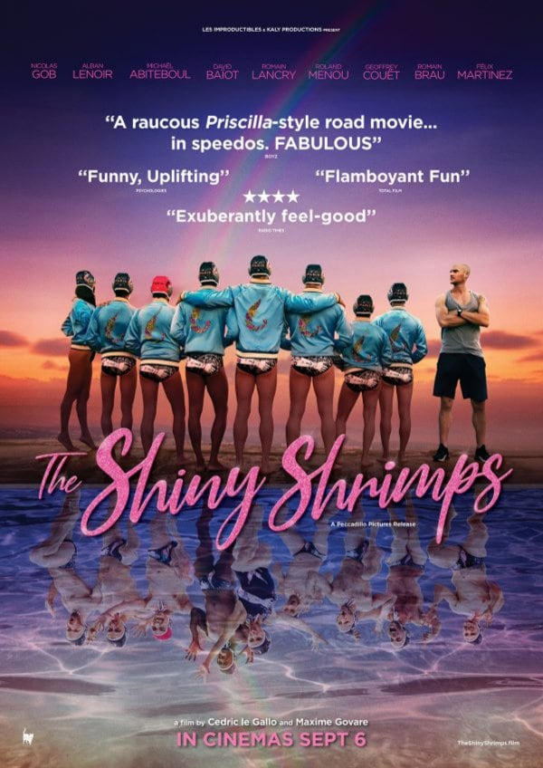 'The Shiny Shrimps (Les Crevettes Pailletées)' movie poster