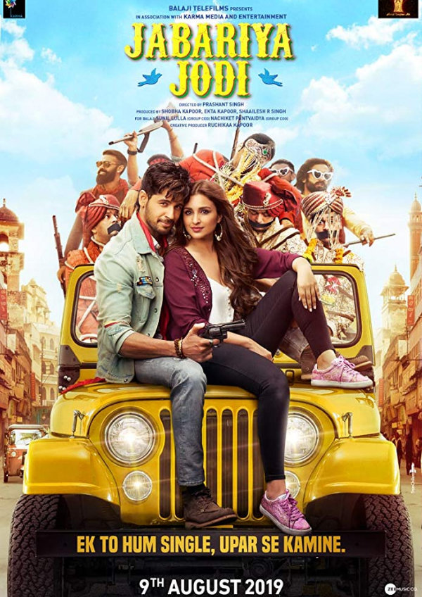 'Jabariya Jodi' movie poster