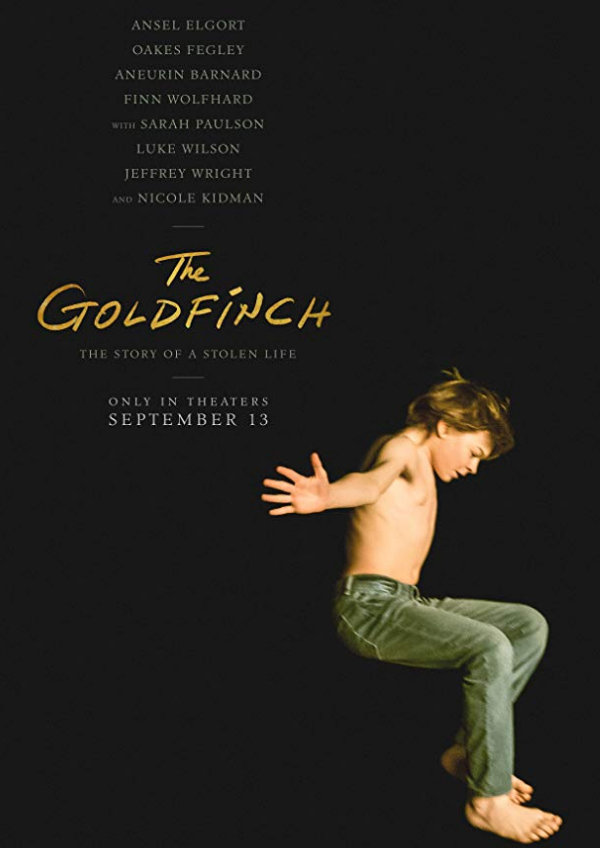 'The Goldfinch' movie poster