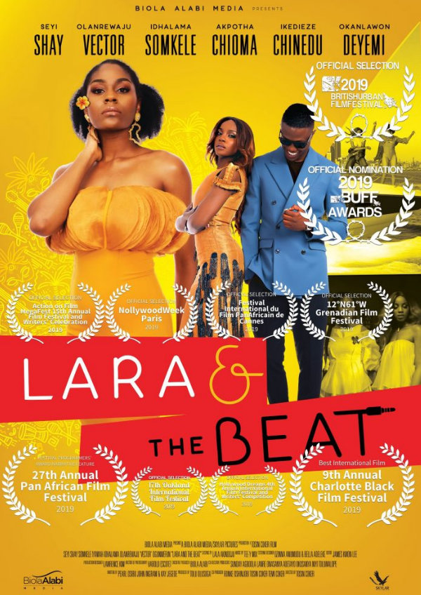 'Lara and the Beat' movie poster