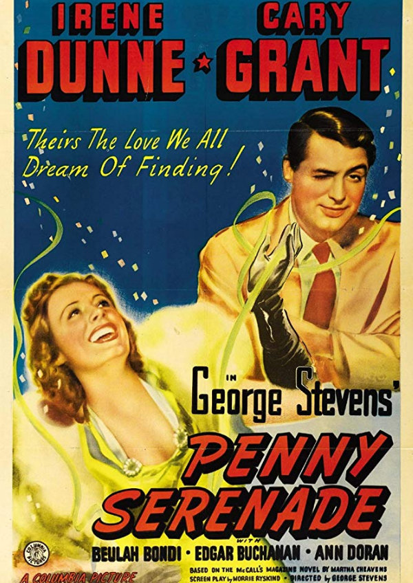 'Penny Serenade' movie poster