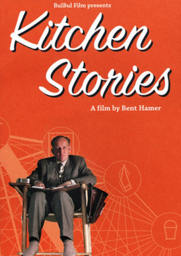 'Kitchen Stories (Salmer Fra Kjokkenet)' movie poster