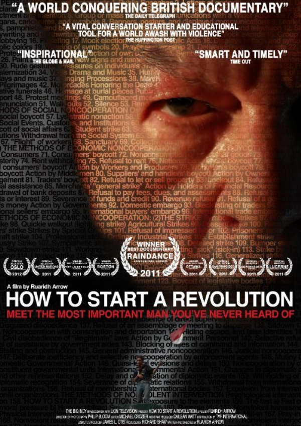 'How To Start A Revolution' movie poster