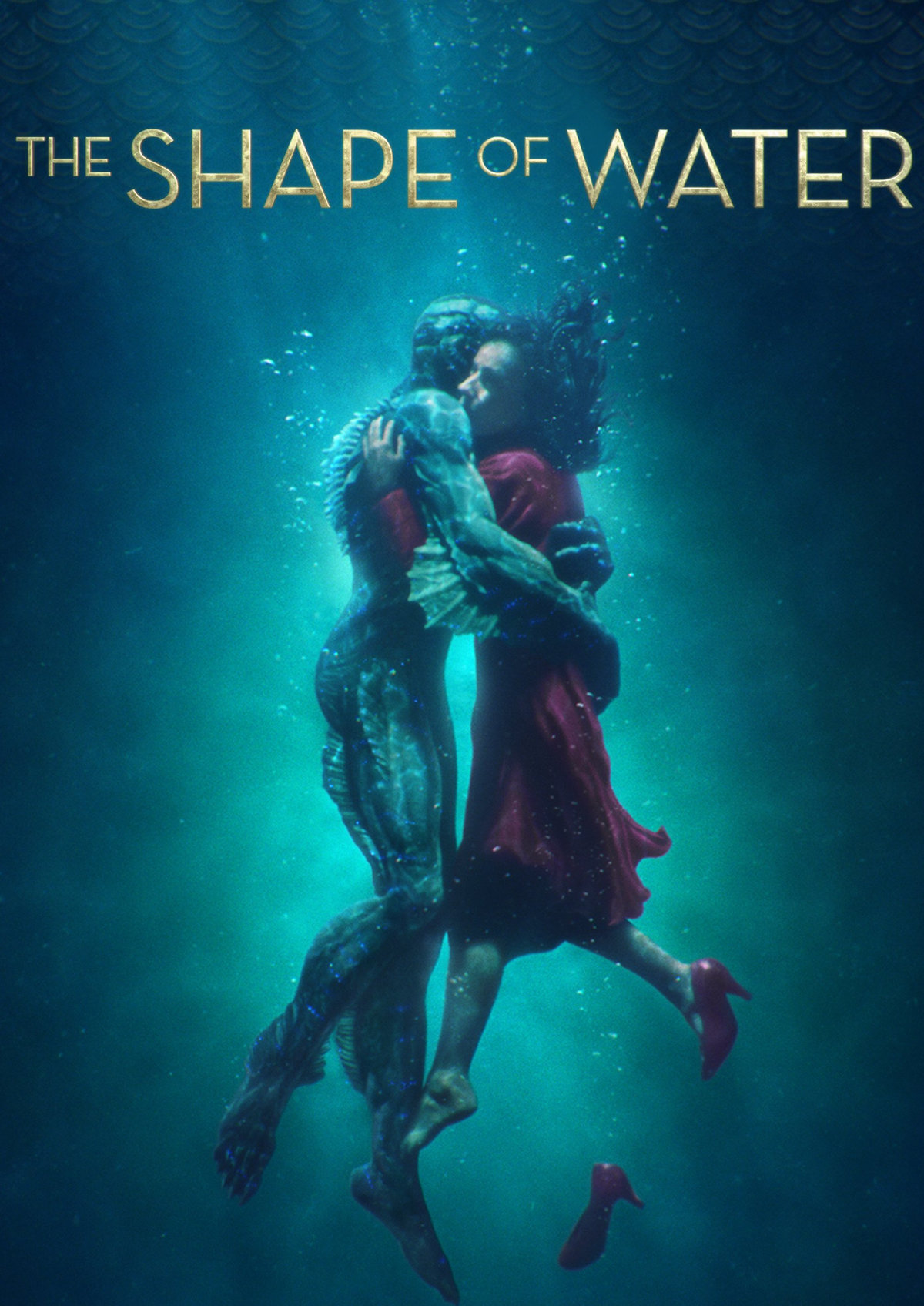 'The Shape of Water' movie poster