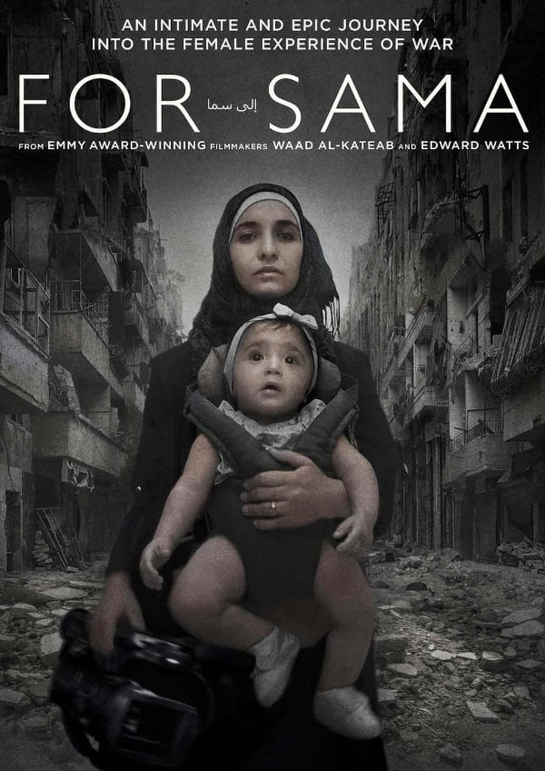 'For Sama' movie poster