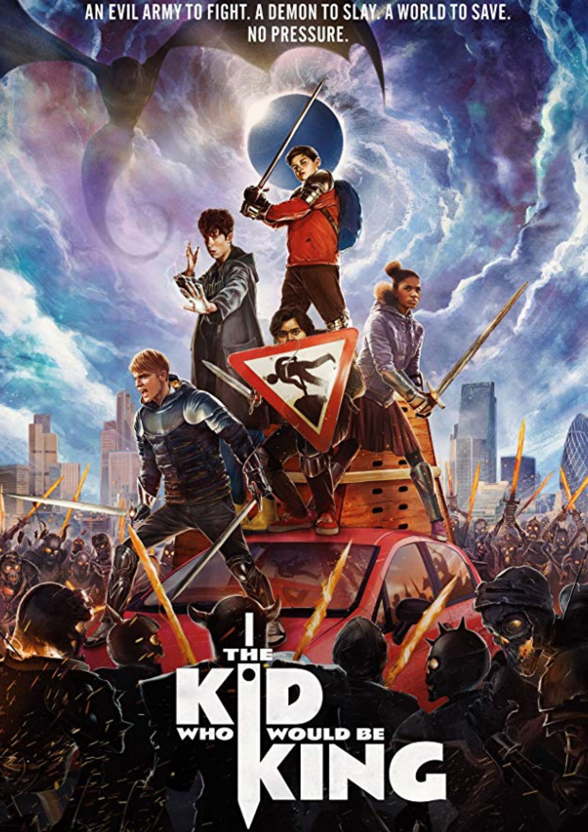 'The Kid Who Would Be King' movie poster