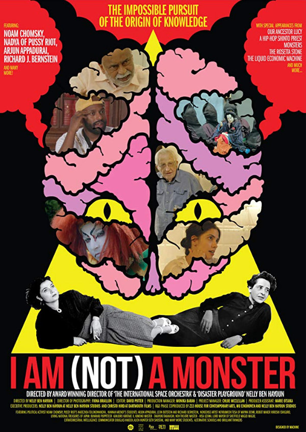 'I Am (Not) A Monster' movie poster