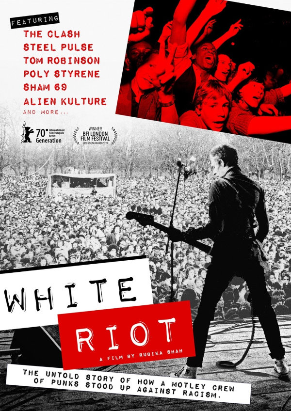 'White Riot' movie poster