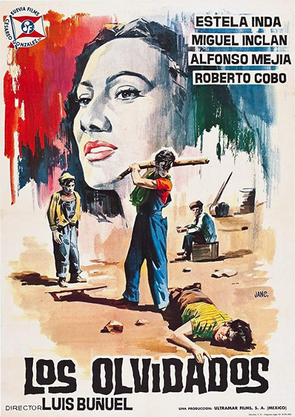 'The Young and the Damned (Los Olvidados)' movie poster
