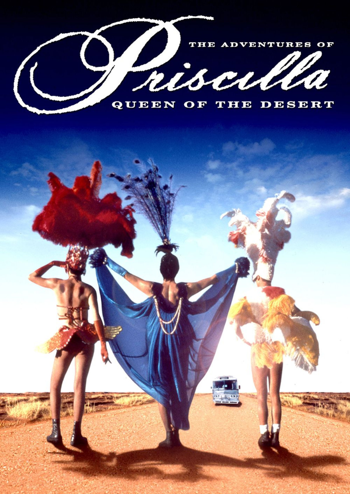 'The Adventures of Priscilla, Queen of the Desert' movie poster