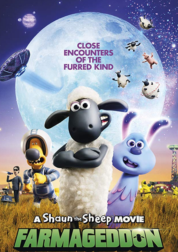 'A Shaun The Sheep Movie: Farmageddon' movie poster